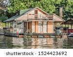 Summer Floating Raft Shack On...