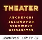 3d light bulb alphabet with red ...   Shutterstock .eps vector #1524444212