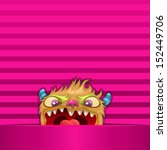 monsters wallpaper   can be use ... | Shutterstock .eps vector #152449706