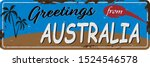vintage greetings from... | Shutterstock .eps vector #1524546578