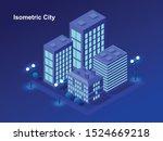 smart city or intelligent... | Shutterstock .eps vector #1524669218