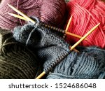 Wool Yarn In Different Colors...