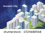 smart city or intelligent... | Shutterstock .eps vector #1524688568