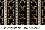 seamless decorative pattern of... | Shutterstock .eps vector #1524702602