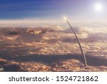 Space Shuttle In The Upper...