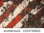 Striped Damaged Texture With...