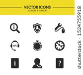 service icons set with tool...