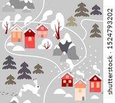 Winter Pattern In Scandinavian...