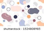 geometric modern abstract... | Shutterstock .eps vector #1524808985
