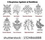 design set with eight...   Shutterstock .eps vector #1524866888