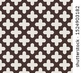 repeating light brown plus on... | Shutterstock .eps vector #1524903182