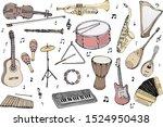 Vector Set Of Musical...