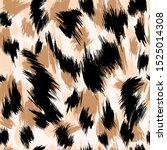leopard abstract texture vector ... | Shutterstock .eps vector #1525014308