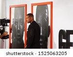 los angeles  oct 6th  2019 ... | Shutterstock . vector #1525063205