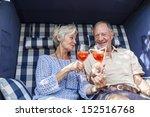 Senior Couple Enjoying...