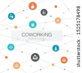 coworking trendy web template...