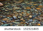 Collection Of River Rock In A...