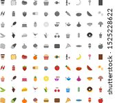icon set of food for personal... | Shutterstock .eps vector #1525228622