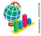 global dynamics icon. isometric ... | Shutterstock .eps vector #1525245758