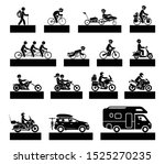 set of various types of... | Shutterstock .eps vector #1525270235