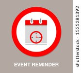 calendar time icon   vector... | Shutterstock .eps vector #1525281392