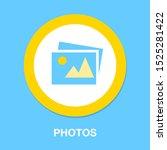 photo camera icon  vector... | Shutterstock .eps vector #1525281422