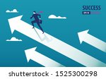 business arrow concept with...   Shutterstock .eps vector #1525300298