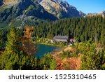 The Autumn Poprad Lake With...
