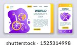 world disability day web banner ...