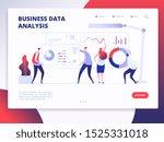 landing page template. digital...   Shutterstock . vector #1525331018