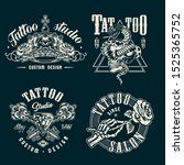 Vintage Tattoo Studio Prints...