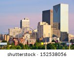 downtown atlanta  georgia  usa... | Shutterstock . vector #152538056