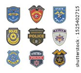 police badges. security signs... | Shutterstock . vector #1525402715