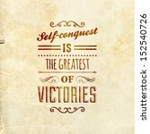 quote typographical background  ... | Shutterstock .eps vector #152540726