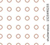 seamless vector pattern in... | Shutterstock .eps vector #1525490255