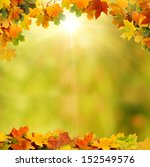 autumn leaves | Shutterstock . vector #152549576