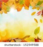 autumn leaves | Shutterstock . vector #152549588