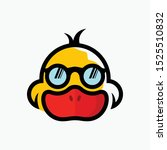 Cool Duck Logo. Duck With...