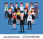 group of business men and women ...   Shutterstock .eps vector #1525548248