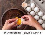 Eggs In Cardboard Egg Carton ...