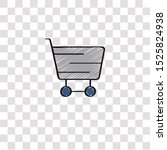 shopping cart icon sign and...