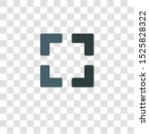 focus icon sign and symbol.... | Shutterstock .eps vector #1525828322