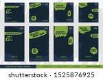 food social media post and...   Shutterstock .eps vector #1525876925