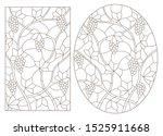 set contour illustrations of... | Shutterstock .eps vector #1525911668