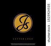 letter js logo initial emblem...   Shutterstock .eps vector #1525924535
