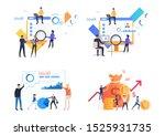 analysis profit illustration... | Shutterstock .eps vector #1525931735
