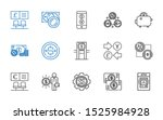 exchange icons set. collection...   Shutterstock .eps vector #1525984928