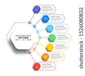 7 steps infographic template... | Shutterstock .eps vector #1526080832