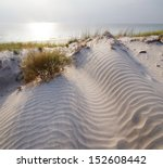 The Curonian Spit In Lithuania...