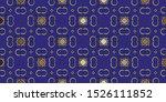 modern geometric ornament.... | Shutterstock . vector #1526111852